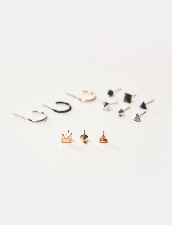 Picture of Rectangle Ear Pins
