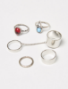 Picture of Gemstone Ring Set